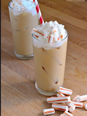 Iced Peppermint Coffee